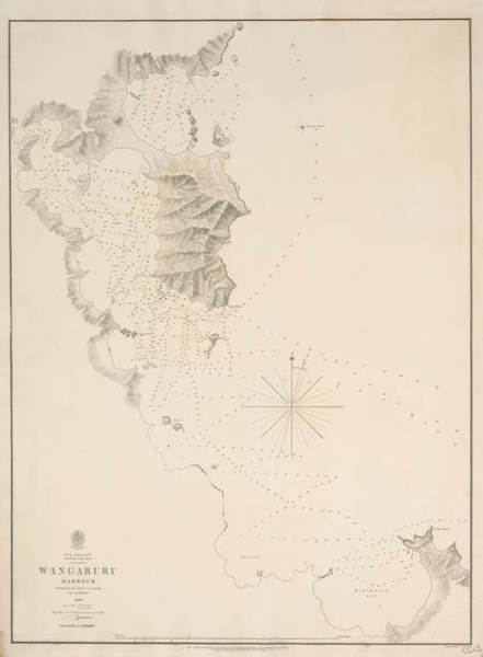 Chart_Whangaruru_Harbour_1849_CMS