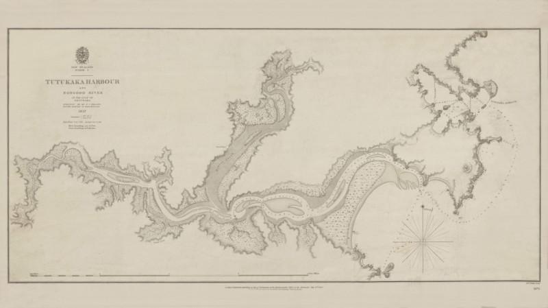 Tutukaka-Ngunguru_British_Admiralty_chart_1837_CMS